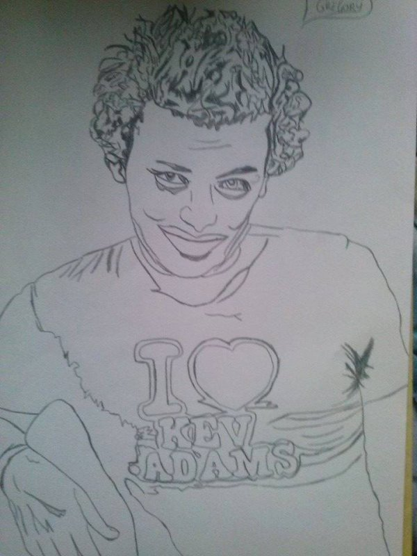 "Voici le second portrait de Star "" Kev Adams """