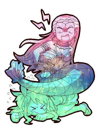 Lucy et Aquarius