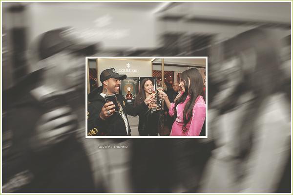 . ''06.02.19'-  ▬ Inanna était au LOUIS XIII Cognac Celebrates '100 Years - The Song You'll Only Hear à Los Angeles Une seule photo lors de cette soirée. Cette sortie serait presque passée inaperçue sur le net.. c'est bien dommage.
