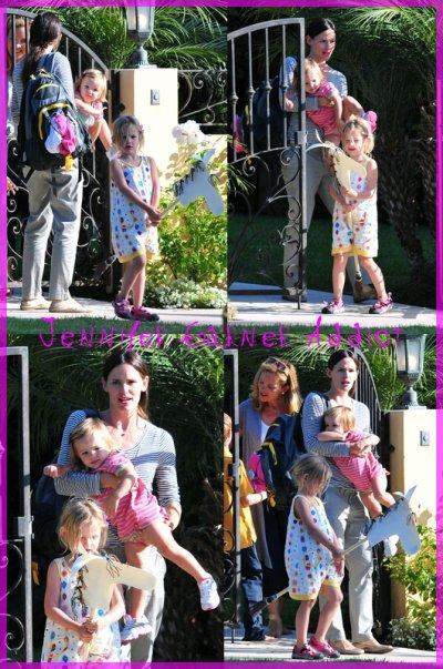 Folle journée des filles Affleck Garner le 7 Septembre