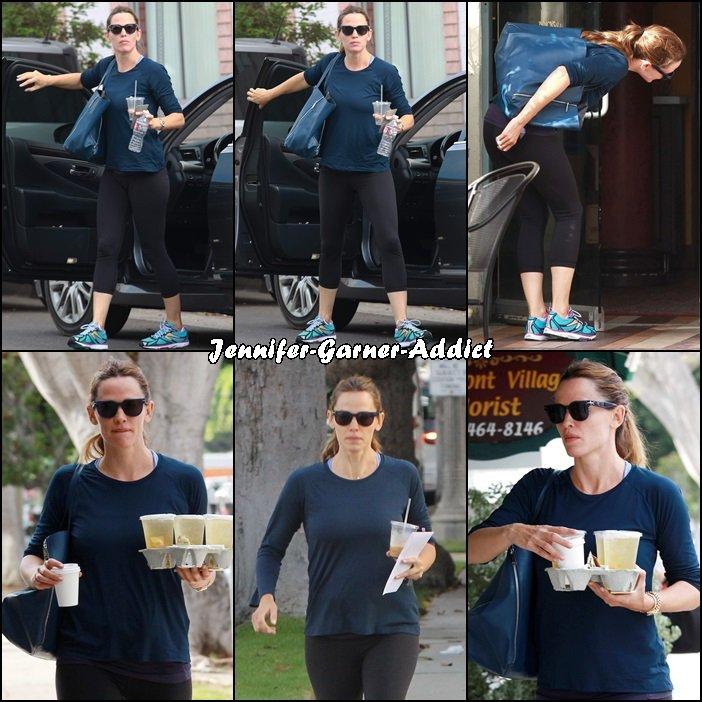 Jen a été à la gym et chercher des cafés - le 22 Octobre -