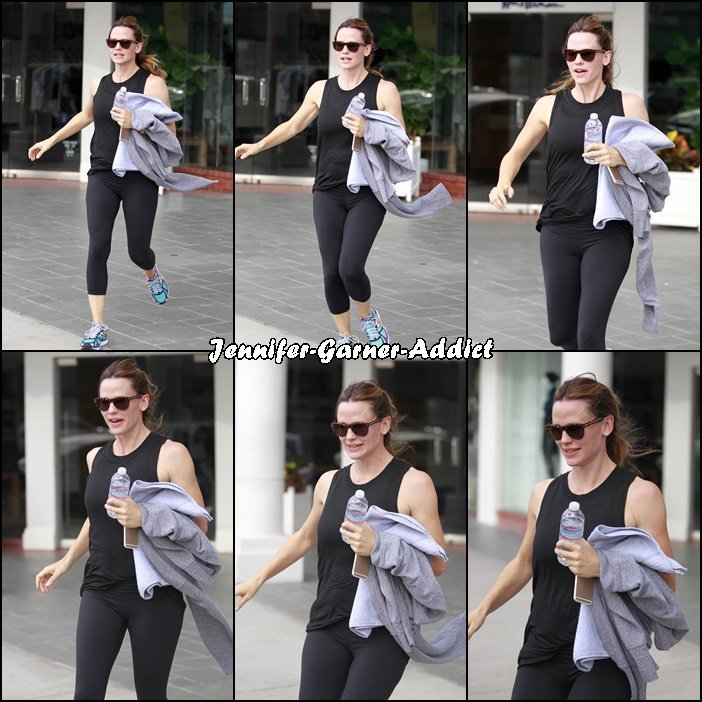 Jen à la gym - le 28 Octobre -