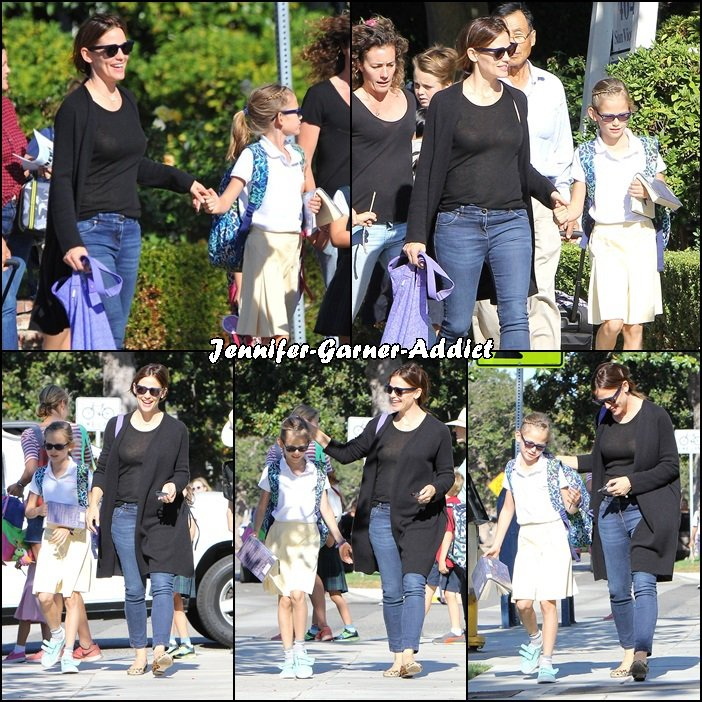 Jen a été chercher Violet à l'école et elles sont allées manger une glace toutes les deux - le 29 Octobre -