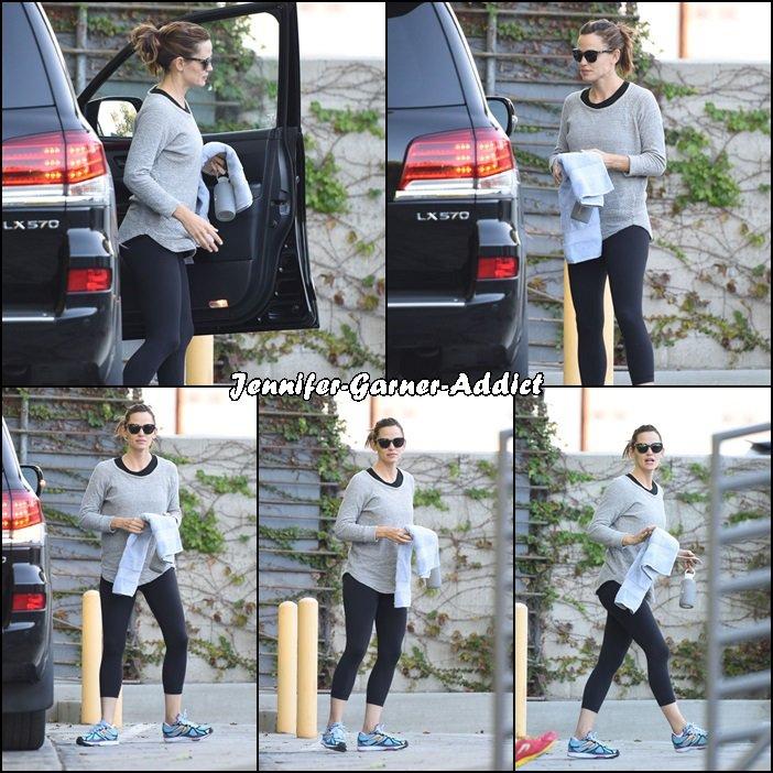 Jen à la gym - le 31 Octobre -