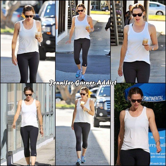 Jen à son cours de gym - le 7 Novembre -