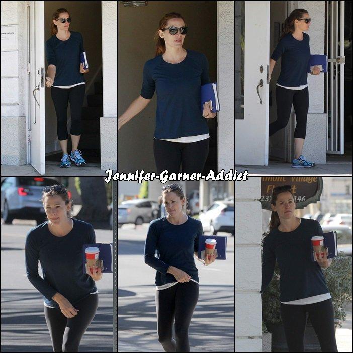 Jen s'est rendue à un rdv chez un psy - le 12 Novembre -