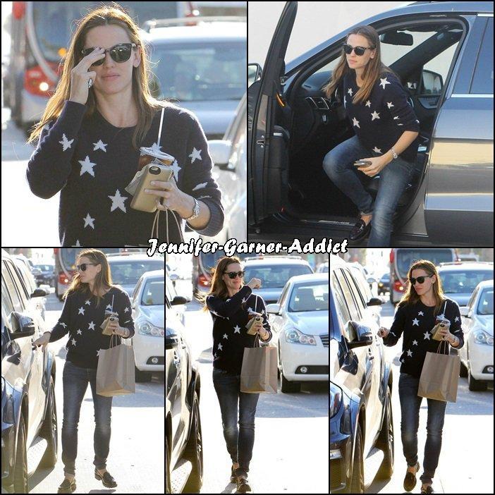 Jen est allée faire quelques courses - le 13 Novembre -