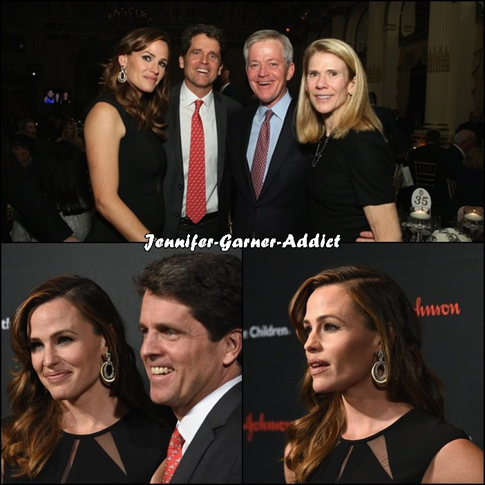 Jen était au Gala Annuel (3ème édition) de l'Association Save The Children au Plaza Hotel à New York - le 17 Novembre -