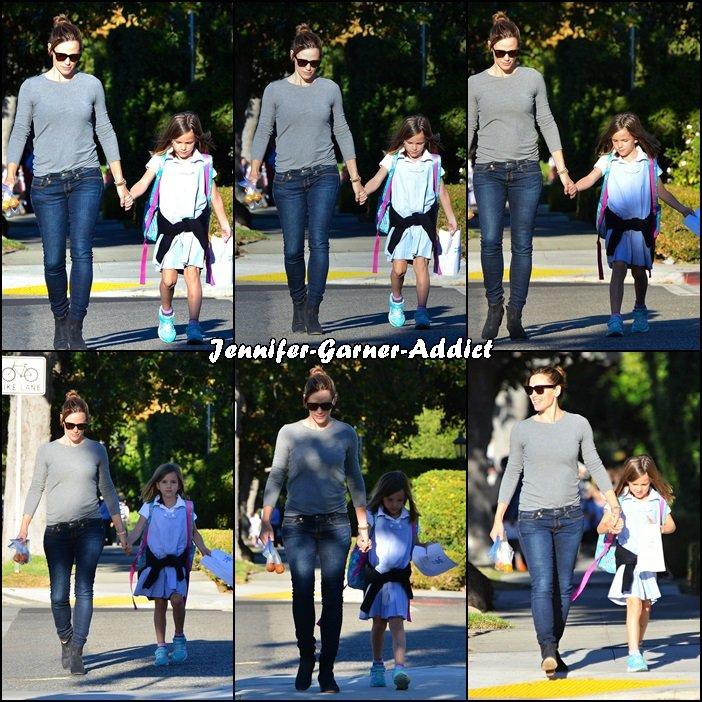 Jen a été chercher Séraphina à l'école puis elles sont allées se promener et Séraphina a eu un cours de conduite (!!) - le 19 Novembre