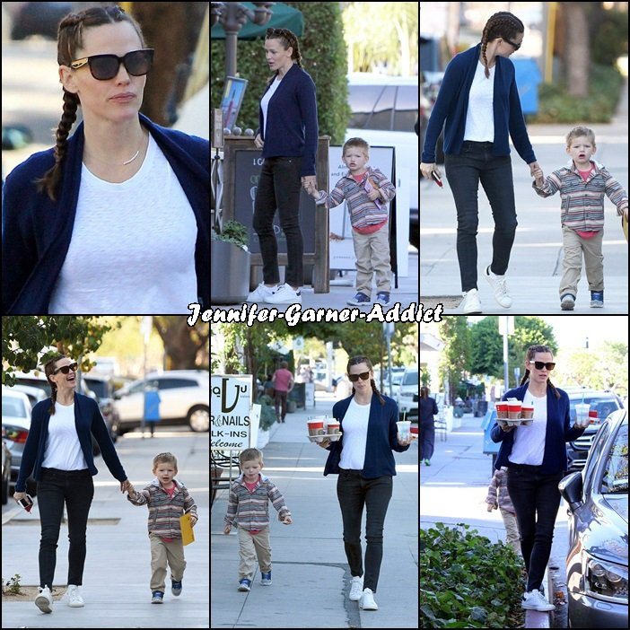 Jen a été chercher des cafés avec Samuel - le 20 Novembre -