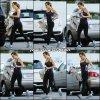 Jen se rendant à la gym - le 28 Novembre -