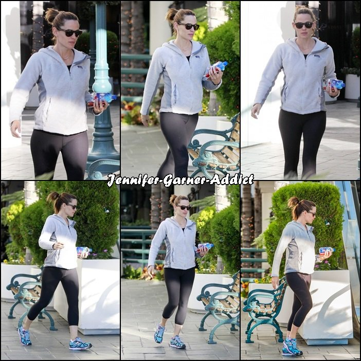 Jen allant à la gym - le 2 Décembre -