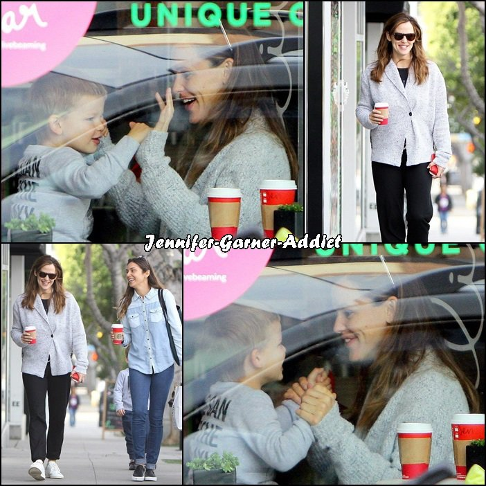 Jen et Samuel sont allés dans un café - le 3 Décembre -