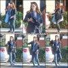 Jen a été se chercher un café et à un rendez vous - le 4 Décembre - (vous noterez que sur son sac sont écrites ses initiales JGA (Jennifer Garner Affleck)