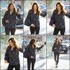 Jen allant à la gym avec une amie (et n'appréciant pas la présence des paparazzis) - le 7 Janvier - (bon ça n'a rien à voir mais j'adore son sac!)