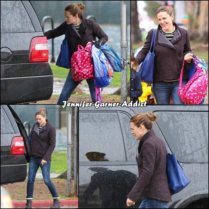 Jen a été chercher Séraphina à l'école - le 6 Janvier -