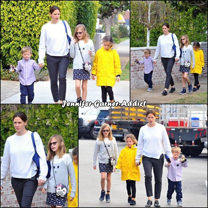 Jen et les enfants se promènent - le 10 Janvier -
