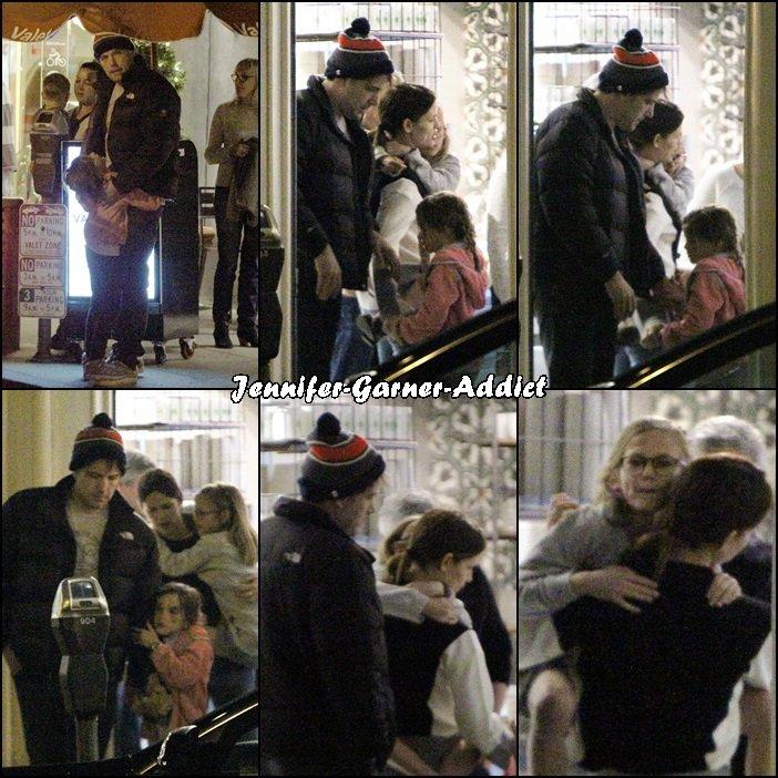 Toute la famille a été au restaurant avec des amis - le 30 Janvier -