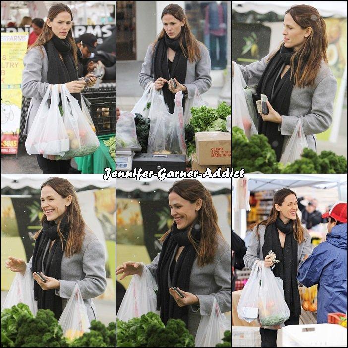 Jen a été faire des courses au marché - le 31 Janvier -