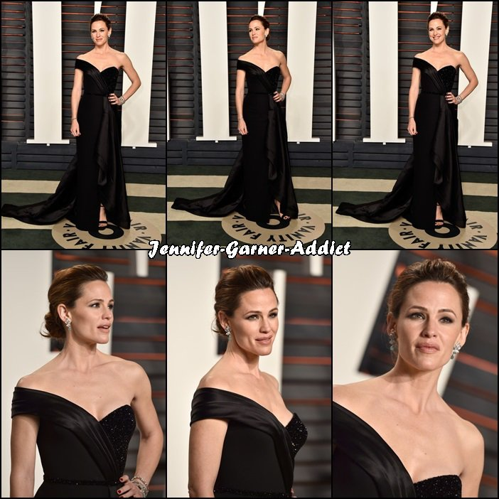 Jen à l'after party Vanity Fair des Oscars - le 28 Février -