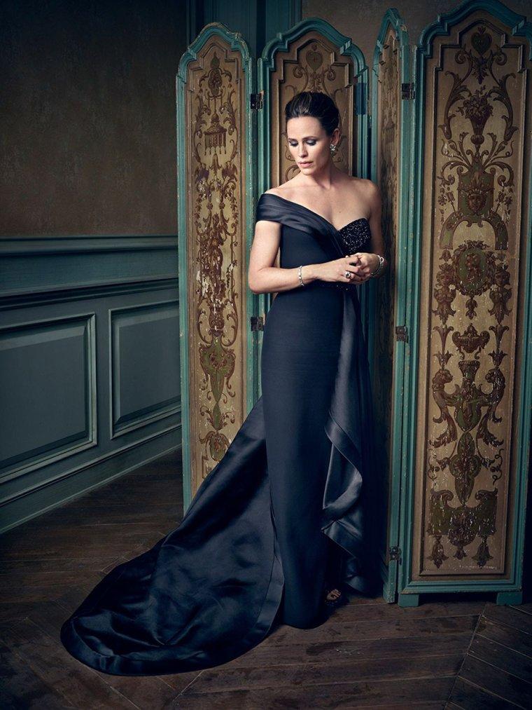 Portrait fait à l'after party de Vanity Fair pour les Oscars