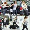 Jen se rendant à la gym - le 12 Mars -
