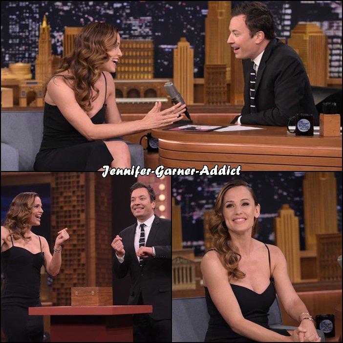 Jen a fait l'émission de Jimmy Fallon - le 16 Mars -