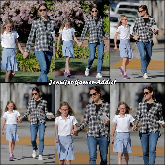 Jen a été chercher Violet à l'école et elles ont passé un peu de temps ensemble - le 24 Mars -