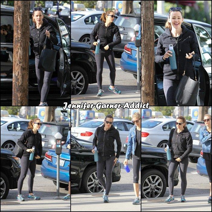 Jen à la gym - le 21 Avril -