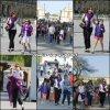 Jen et les enfants (avec la nounou et des amies) sont allés visiter la Tour Eiffel et le Musée du Louvre à Paris - le 8 Mai -