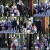 Jen, les enfants et Ben sont de sortie à Londres - le 12 Mai -