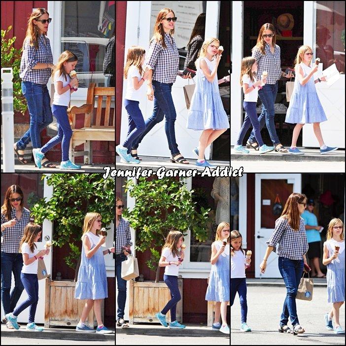 Jen et les filles sont allées manger une glace - le 13 Juin -