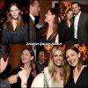 Jen (avec son agent) à la soirée organisée en raison de la saison 2 de Barely Famous