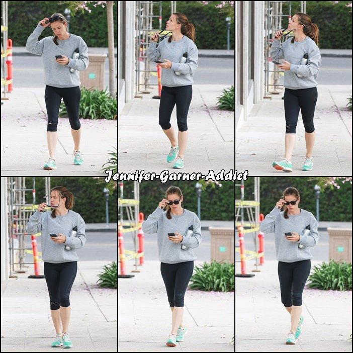 Jen a été à la gym - le 9 Juillet -