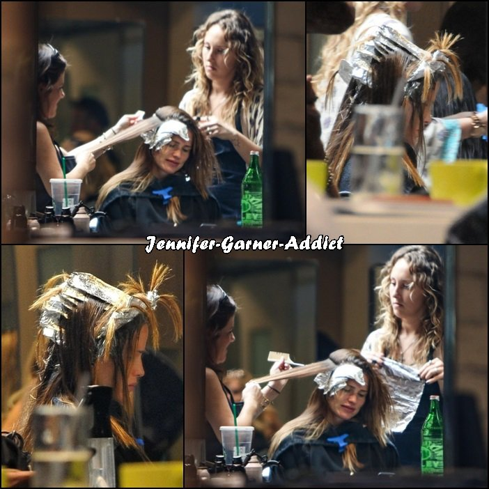 Jen a été chez le coiffeur - le 22 Juillet -