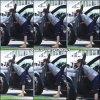 Jen arrivant sur un lieu de tournage à Los Feliz - le 28 Juillet -