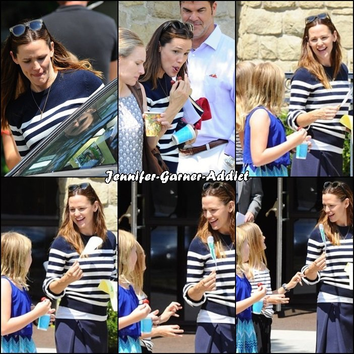 Jen a amené les enfants à l'église - le 31 Juillet -