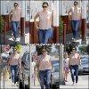Jen avec Violet dans Los Angeles - le 1er Aout -
