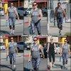 Jen allant et sortant de la gym - le 13 Aout -