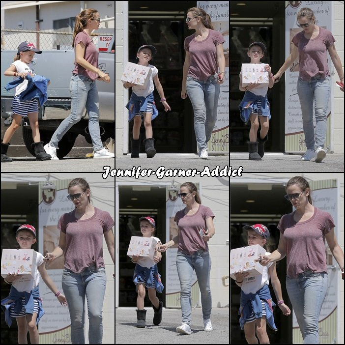 Jen a été faire des emplettes avec Séraphina - le 13 Aout -