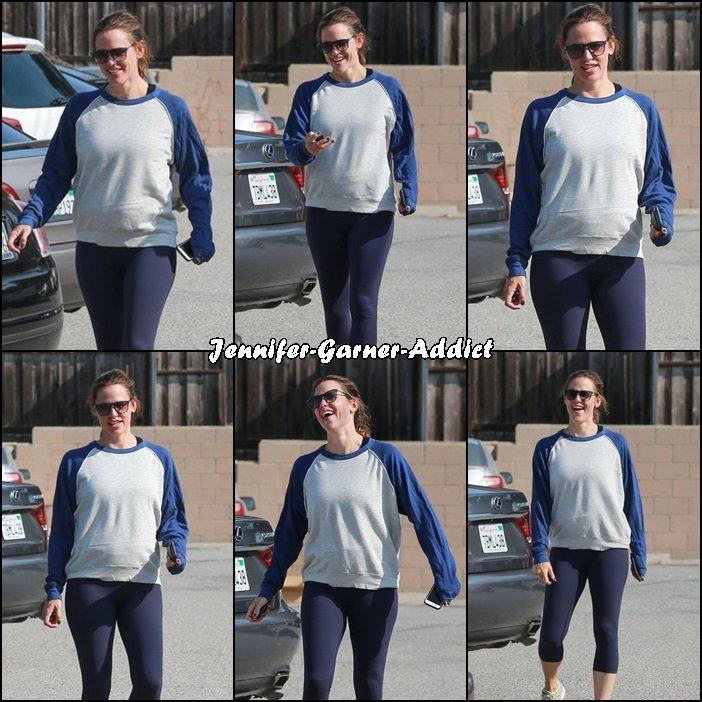 Jen a été à la gym - le 20 Août -