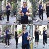 Jen a été à la gym avec son agent - le 21 Aout -