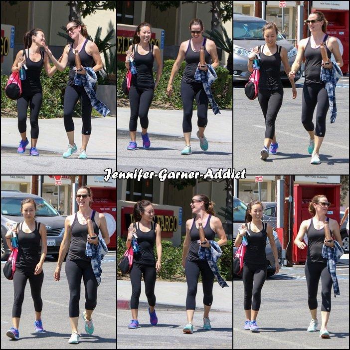 Jen est allée à la gym avec une amie - le 29 Aout -