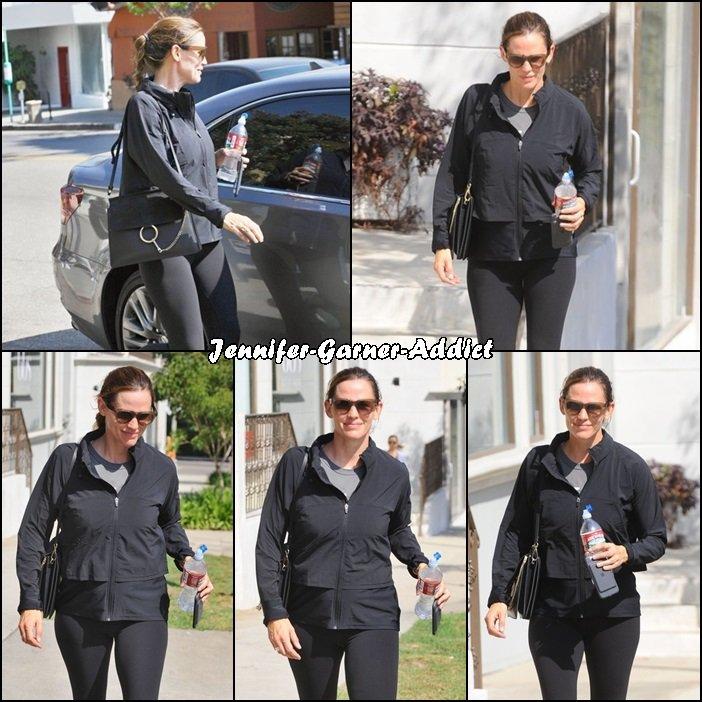 Jen sortant de la gym - le 7 Septembre -