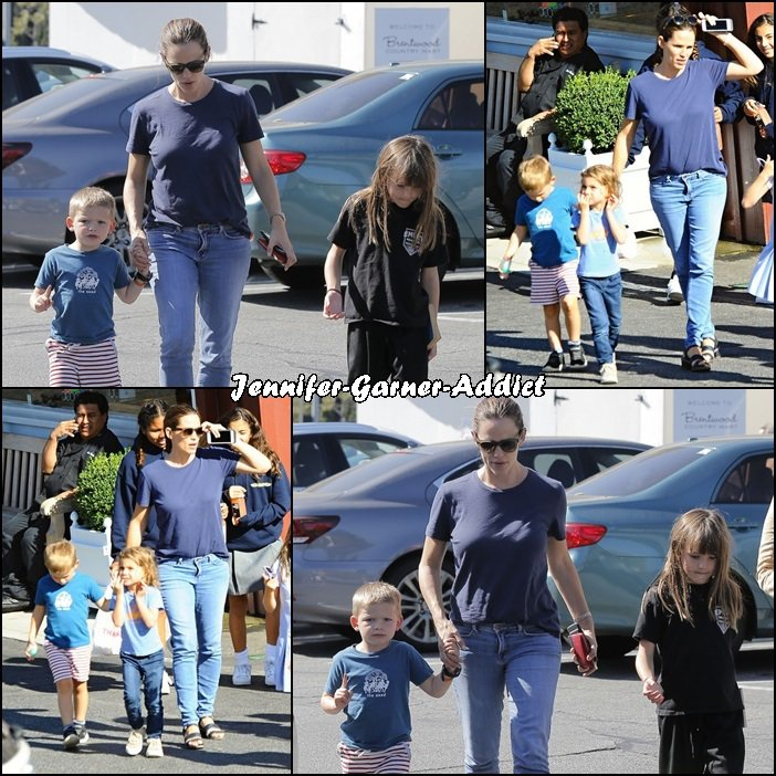 Jen a été chercher Violet et Séraphina à l'école puis amener Séraphina au karaté avec Samuel - le 16 Septembre -
