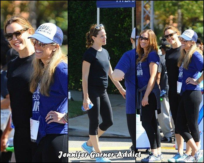 Jen a amené les enfants à une course - le 18 Septembre - (sans oublier le chien!)