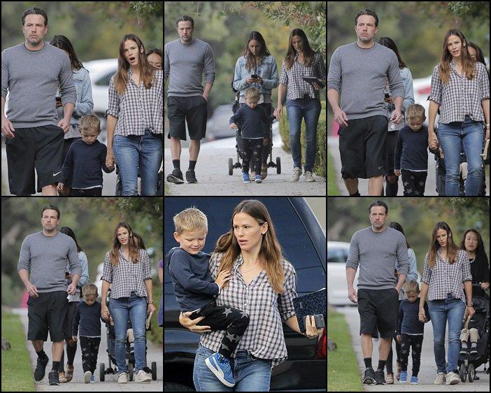 Jen et Ben se sont baladés avec Samuel - le 19 Septembre -