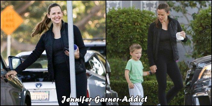 Jen et Samuel sont allés chercher un café - le 21 Septembre - à Brentwood
