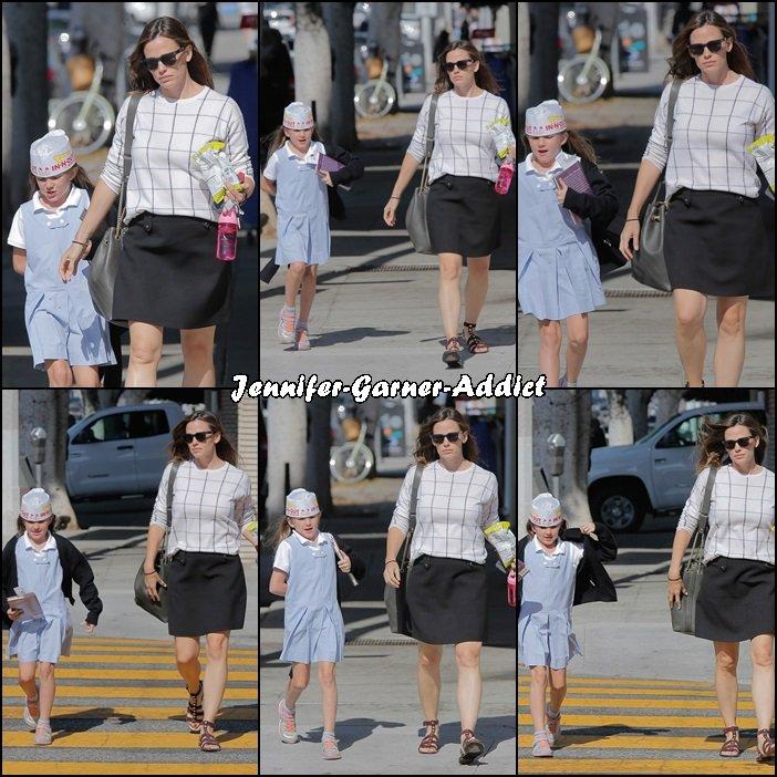 Jen a été chercher Séraphina à l'école - le 22 Septembre -