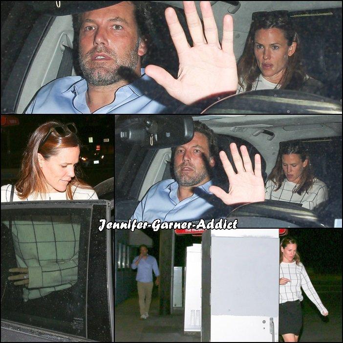 Jen et Ben sont de sortie en soirée - le 22 Septembre -